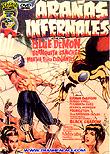 Blue Demon in Hellish Spiders / Arañas infernales