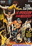 Blue Demon & Zovek in La Invasión de los muertos