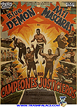 Blue Demon and Mil Mascaras in Champions of Justice / Los campeones justicieros